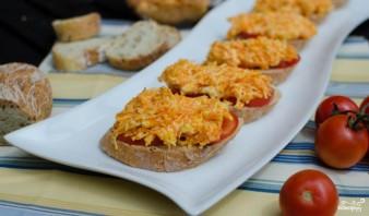 Бутерброды с морковью и сыром - фото шаг 5