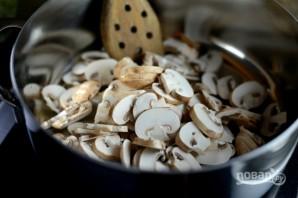 Ризотто с грибами и беконом - фото шаг 1