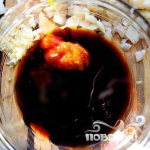 Индейка и салат-латук - фото шаг 7