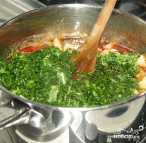 Суп с капустой и колбаской чоризо - фото шаг 4