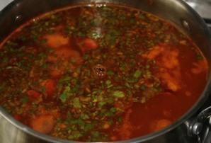 Мексиканский фасолевый суп - фото шаг 8