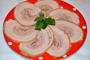 Рулет из свиной брюшины - фото шаг 7