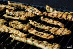 Закуска из курицы и свежих овощей - фото шаг 12