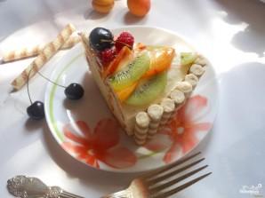 Бисквитно-творожный торт - фото шаг 11