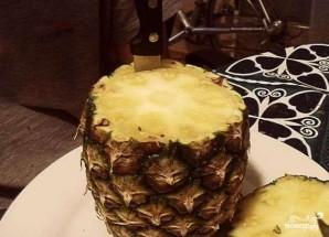 Десерт из ананаса - фото шаг 1