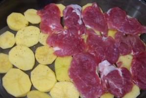 Мясо по-французски в духовке - фото шаг 2