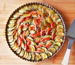 Кабачки, запеченные с картошкой - фото шаг 3