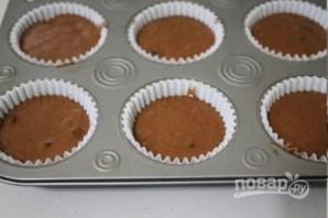 Шоколадные маффины - фото шаг 8