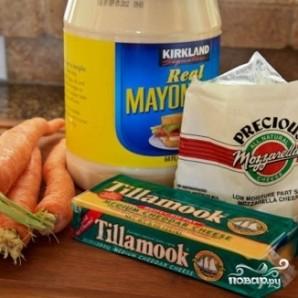 Гренки с сыром и морковью - фото шаг 1