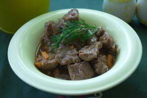 Мясо, тушеное с овощами - фото шаг 5