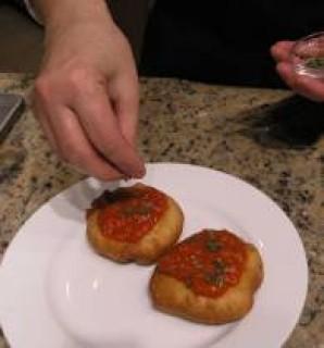 Pizzelle Fritte, жаренная пицца - фото шаг 7