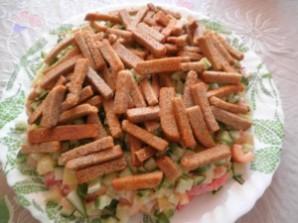 Простой салат с куриным филе - фото шаг 3