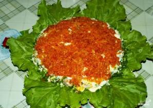 Рыбный салат из консервов с рисом - фото шаг 10