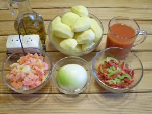 Картофельное рагу - фото шаг 1