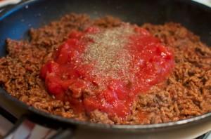 Спагетти с  фаршем - фото шаг 5