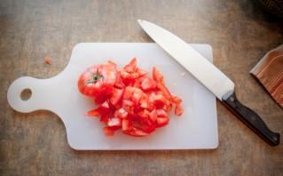 Салат с макаронами и тунцом - фото шаг 2