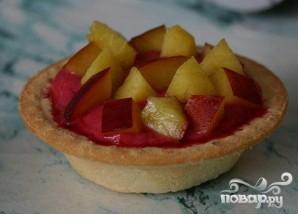 Холодные пирожные из вишни в тарталетках - фото шаг 4
