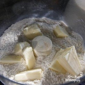 Ежевичный пирог с орехами - фото шаг 2