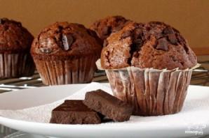 Шоколадные маффины с шоколадной крошкой - фото шаг 7