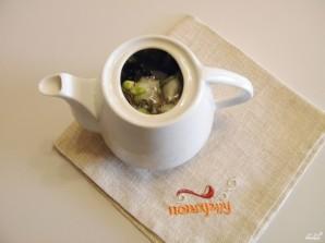 Зеленый чай с жасмином - фото шаг 3