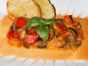 Овощное рагу на сковороде - фото шаг 5