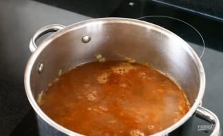 Быстрый овощной суп со свининой - фото шаг 5