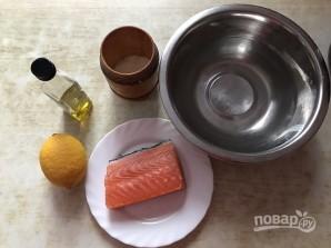 Горбуша малосольная быстро и вкусно - фото шаг 1