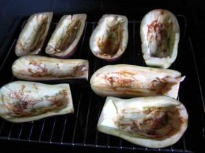Лодочки из баклажанов в духовке - фото шаг 1