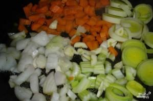 Вегетарианский фасолевый суп - фото шаг 2