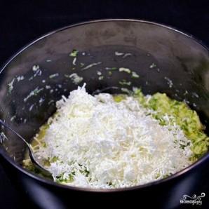 Кабачковые оладьи с козьим сыром - фото шаг 11
