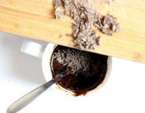 Кекс в чашке в микроволновке  - фото шаг 4