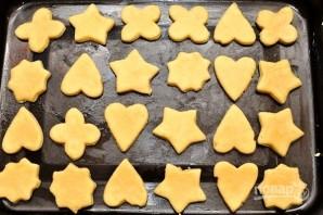 Песочное печенье (простой рецепт) - фото шаг 5