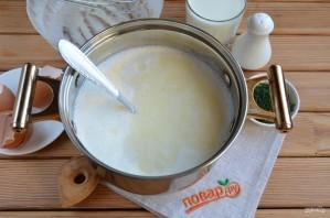 Домашний сыр из молока и сметаны - фото шаг 5