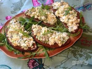 Тосты с салатом из сельдерея и яиц - фото шаг 9