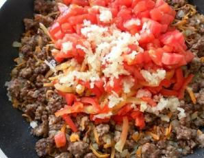 Паста с фаршем и помидорами - фото шаг 7
