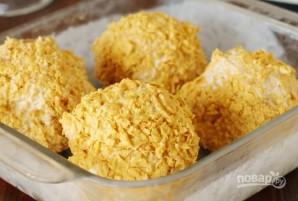 Жареные шарики из мороженого - фото шаг 4