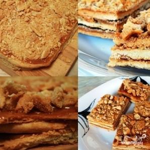Пирожное с варёной сгущёнкой - фото шаг 9
