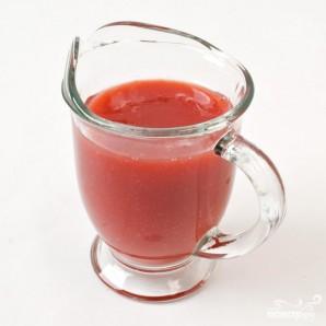 Соус для десерта из клубники и томатов - фото шаг 5