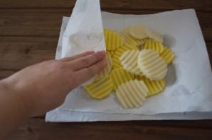 Свинина с картошкой на сковороде - фото шаг 5