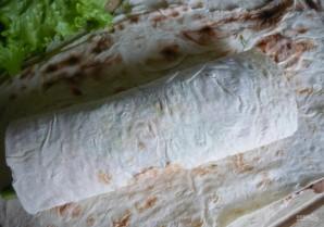 Закусочный рулет из лаваша - фото шаг 6