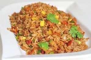 Жареный рис со свининой - фото шаг 12