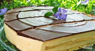 "Торт ""Птичье молоко"" на агар-агаре - фото шаг 4"