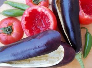 Овощи, фаршированные фаршем - фото шаг 3