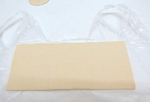 Пирожки с черникой из слоеного теста - фото шаг 1