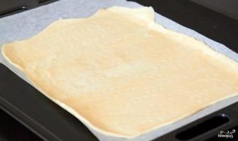 Пирог с грибами, сметаной и сыром - фото шаг 1