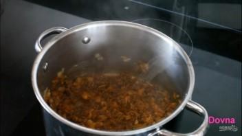 Быстрый овощной суп со свининой - фото шаг 4