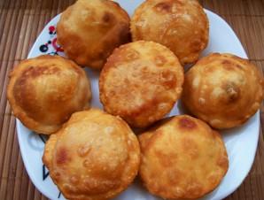 Тесто для жареных пирожков на кефире - фото шаг 3