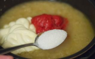 Кабачковая икра с томатной пастой в мультиварке - фото шаг 6