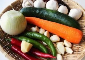 Курица с овощами по-корейски - фото шаг 4
