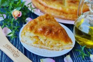 Пирог с капустой (мастер-класс) - фото шаг 8
